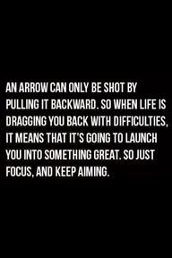 Pulling back just focus